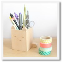 Cat pencil holder - Mee Mee London