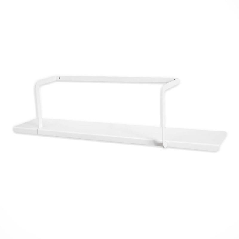 etagere design en metal blanc mobilier 100 francais