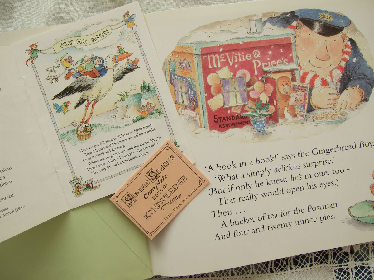 a christmas book at bedtime | meeni