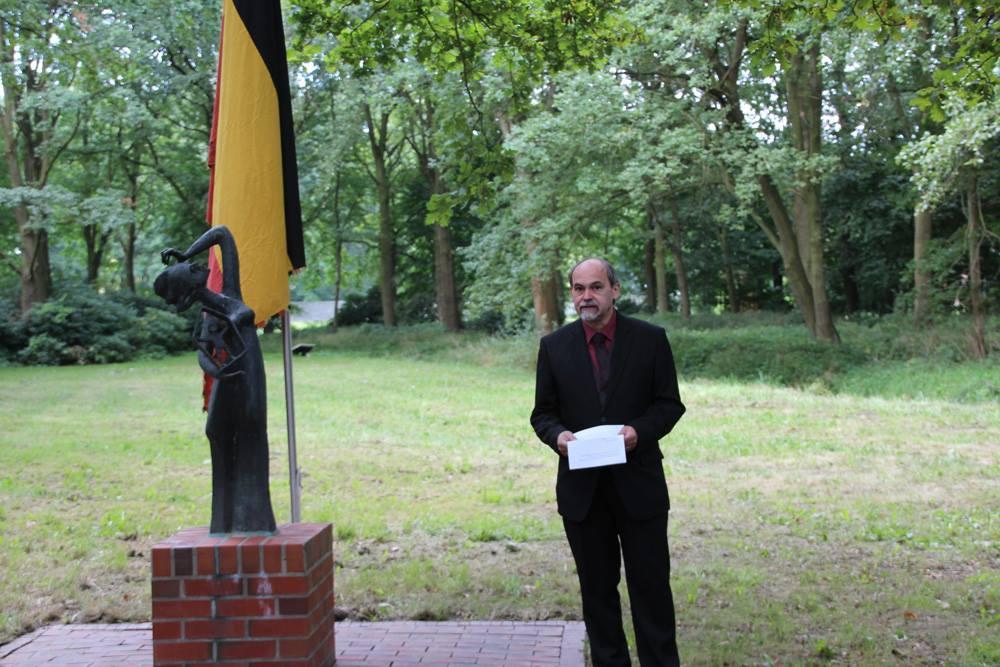 Toespraak Dhr Detlef Garbe – 17e Herdenkingsreis Naar Noord-Duitsland