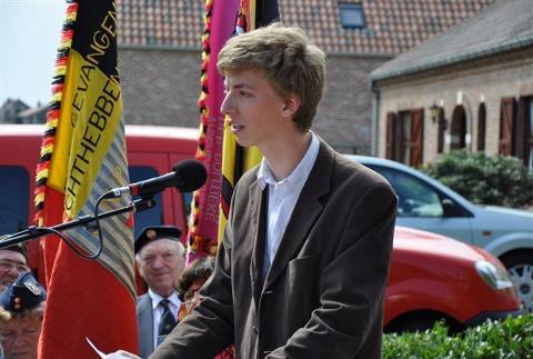 Toespraak van Ruben Donvil op 5 augustus 2012 in Meensel-Kiezegem