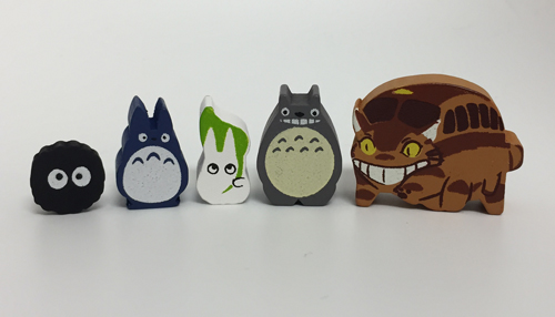 Meeplesource Com Totoro Meeples Mixed Set