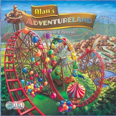 Alan's adventureland. Portada.