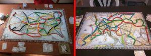 Aventureros al Tren! Mapas EEUU y Europa
