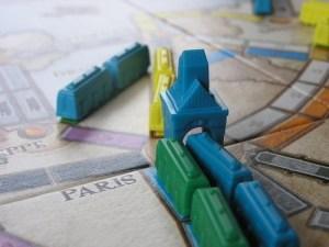 Aventureros al Tren! Detalle estación en París