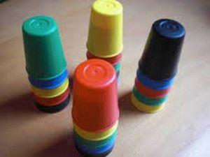 Speed Cups. Cubiletes para jugadores.