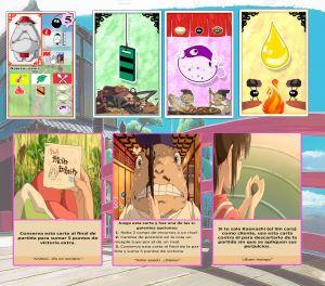 El viaje de Chihiro. Detalle de cartas.