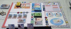 El viaje de Chihiro. Detalle del tablero.