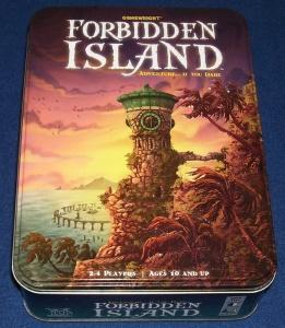 La isla prohibida. Caja del juego.
