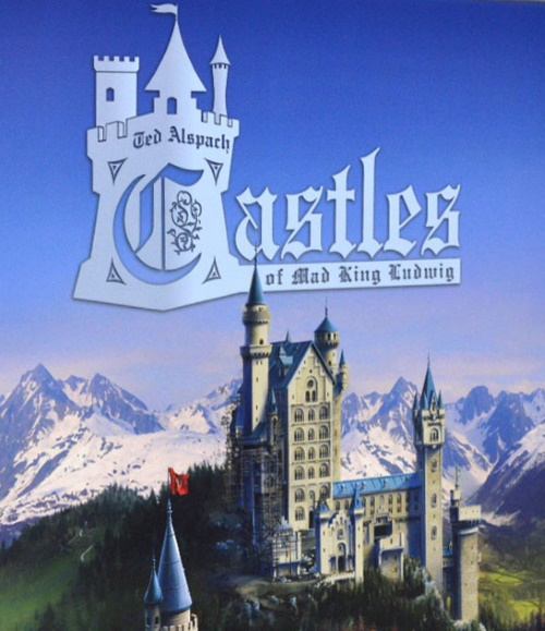 Los castillos del Rey Loco. Portada de la caja.