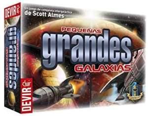 Pequeñas grandes Galaxias. 3 jugadores. 8 y 11 años.
