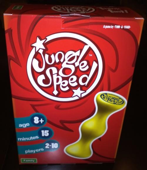 Jungle Speed. Caja del juego