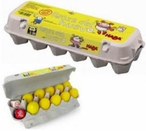 La danza del huevo. Caja y componentes