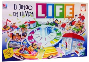 El juego de la vida. 4 jugadores. 12, 10 y 9 años.