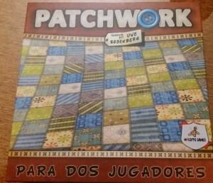 Patchwork. 2 jugadores. 9 años.