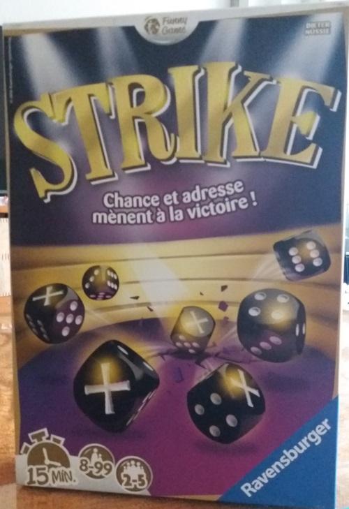 Strike. Caja del juego