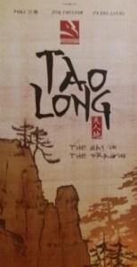 Tao Long. Portada