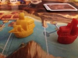 Jamaica. Dos barcos piratas demasiado cerca...