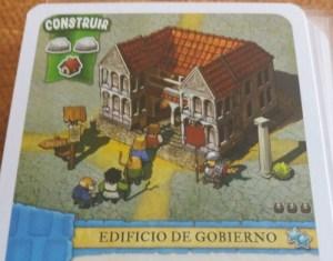 Un colono del imperio. Edificio de Gobierno
