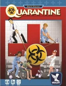 Quarantine. Caja del juego