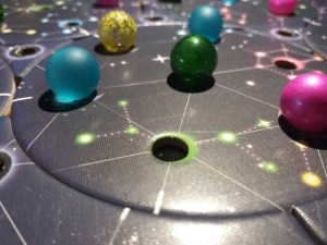 Stellium. Un planeta presidiendo esta galaxia