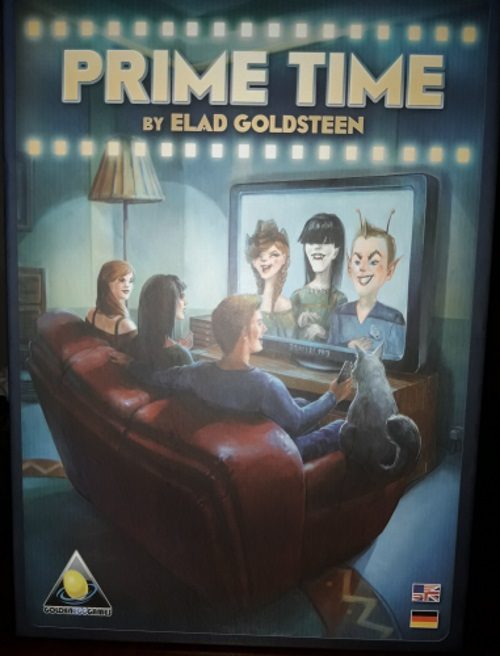 Prime Time. Caja del juego