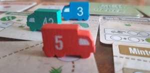 Mint Delivery. Tres jugadores
