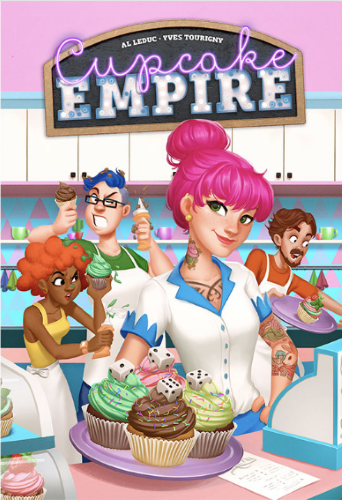 Cupcake Empire. Caja del juego