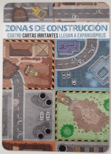 Expansiópolis. Zonas de construcción