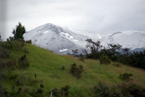 Schnee auf den Bergen...