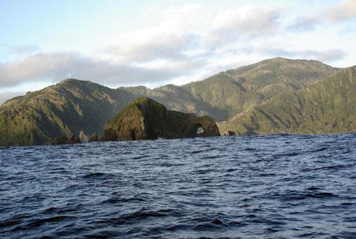 Bizarre Pazifikküste