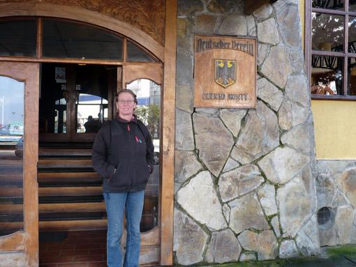 ein kleines Museum der Deutschen Einwanderer und Restaurant