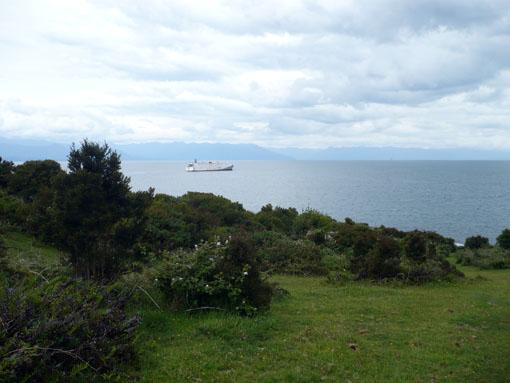 Isla Tenglo auf der Höhe