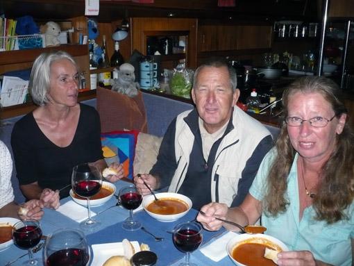 Moni, Hermann und Anne