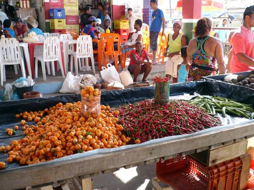 Tropisches Gemüse