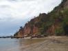 Schöne Kulisse am Strand vor Morro