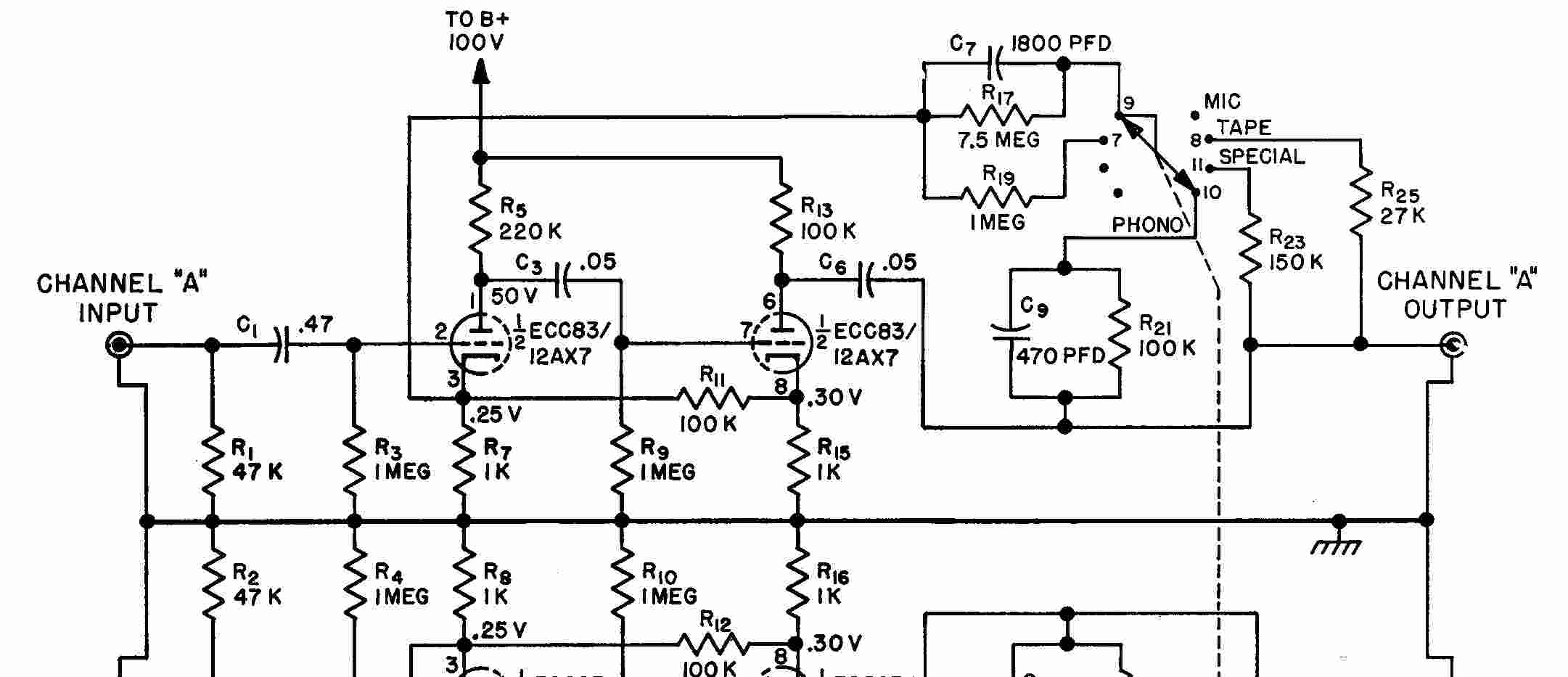 Shure Phono Preamp | Wiring Diagram Database