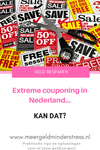 Extreme couponing - Meer geld minder stress #extremecouponing