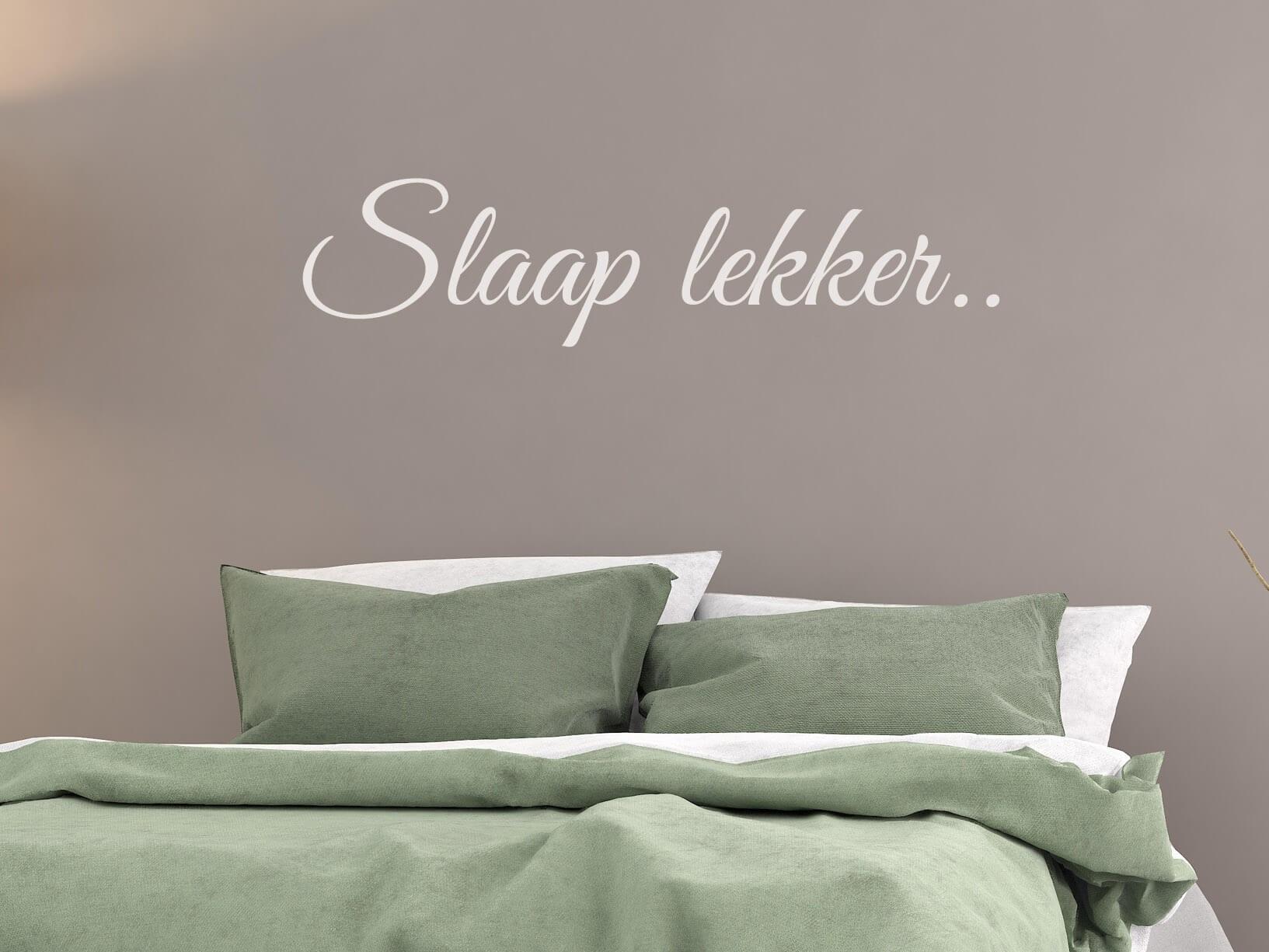 Muursticker Slaap lekker