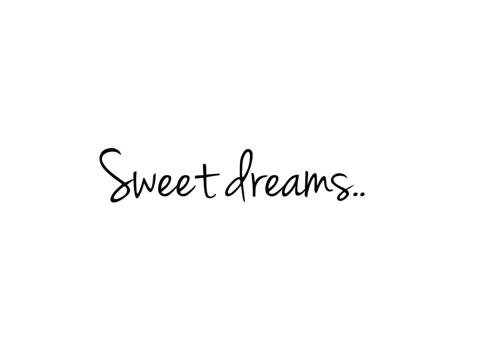 Muursticker Sweet dreams  Muurstickers