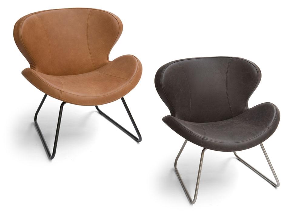 Brees New World fauteuil Peggy slide  Meertens Meubelen
