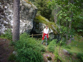 05 Beetje inlopen op het Sentier archeologique