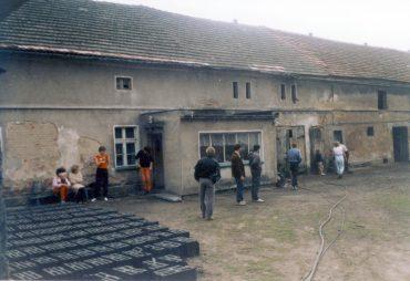 Polen 1986 Boerderij bezoeken0003