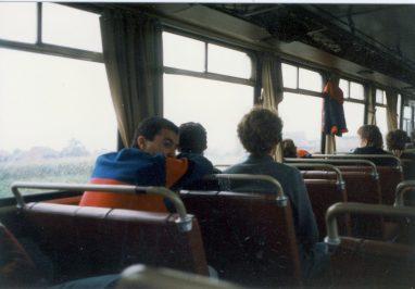 Polen 1986 Op reis
