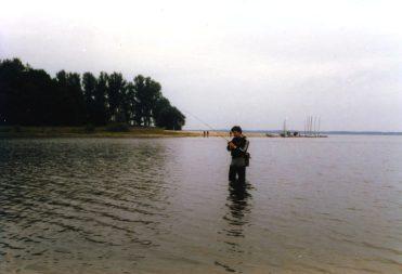 Polen 1986 Vissen-zeilen-paddest