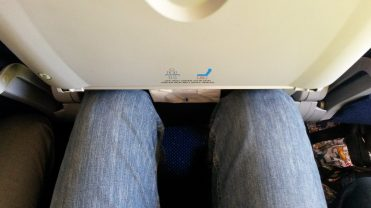 De reis begon wat krap, maar ik had geluk dat ik zat, met mijn standby boarding pass