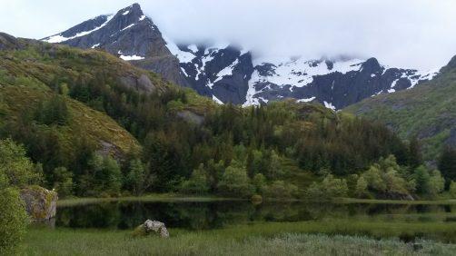 Bergmeer in Nusfjord