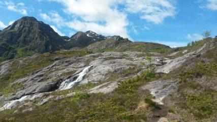 Waterval bij Sørvågen