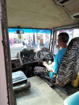Op weg naar Paramaribo voor een visum
