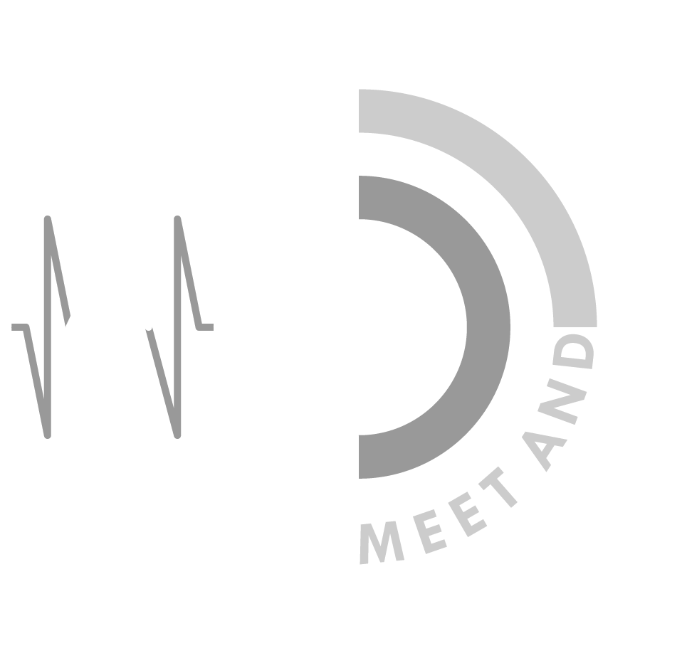 Meet And Complete Logo Designed By Florian Wunderlich, Audio Engineer, Music Producer, Designer, Marketer